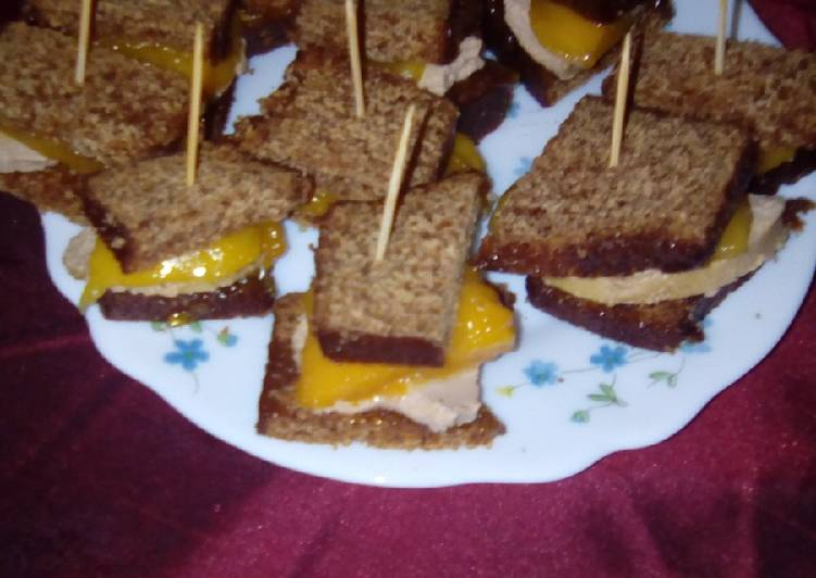 Sucette pain d'épice foie gras