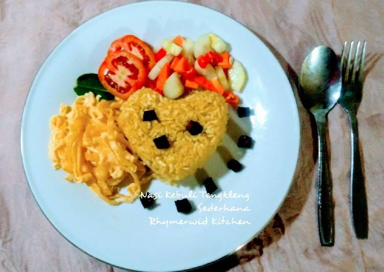 Nasi Kebuli Tengkleng Sederhana dengan Dadar Telur - cookandrecipe.com