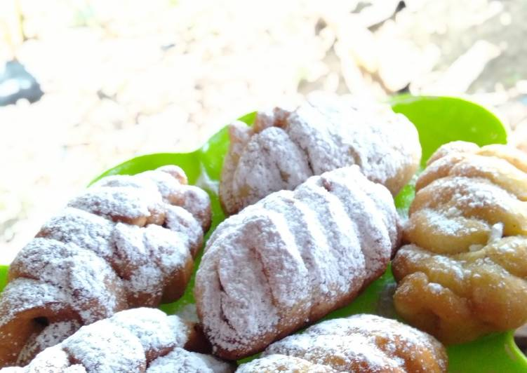 Resep Roti goreng isi coklat pisang, Lezat Sekali