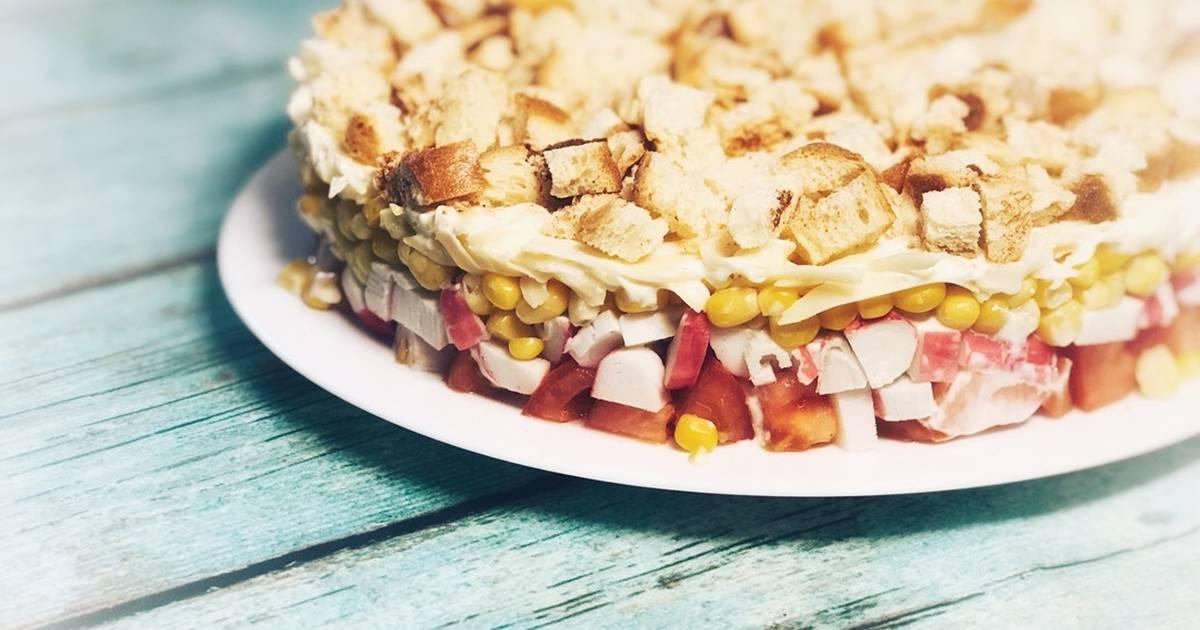 замкнутые салат коррида пошаговый рецепт с фото современный