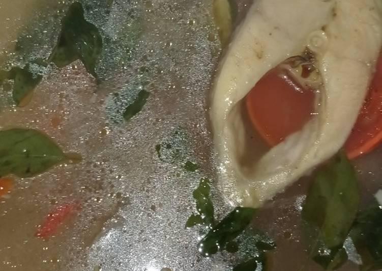 Sup gurame kuah bening