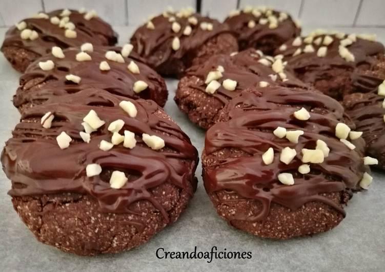 Galletas de chocolate y avena