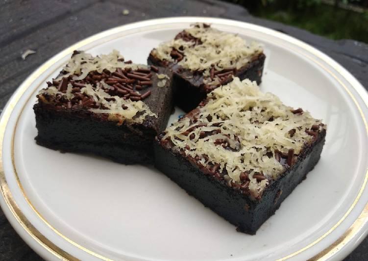 Resep Brownies Coklat Keju Panggang Non Oven, Lezat Sekali