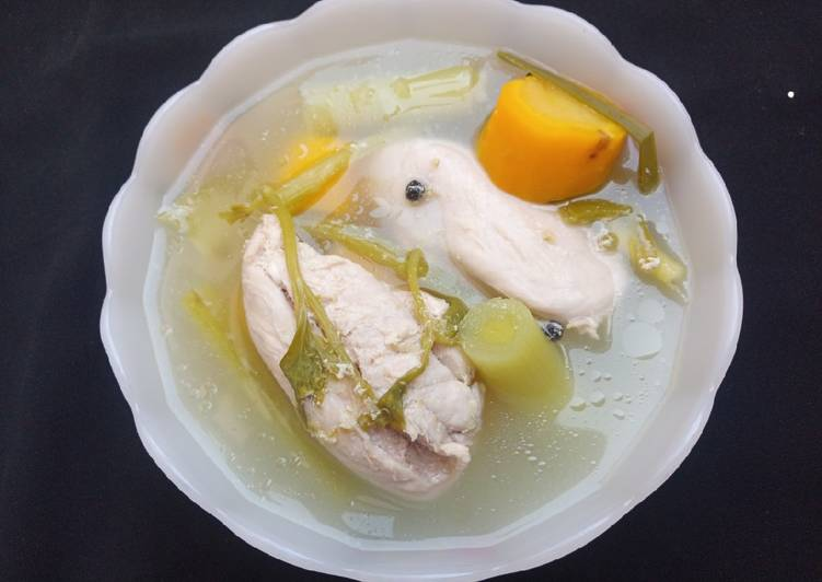 Recipe of Ultimate Chicken broth soup