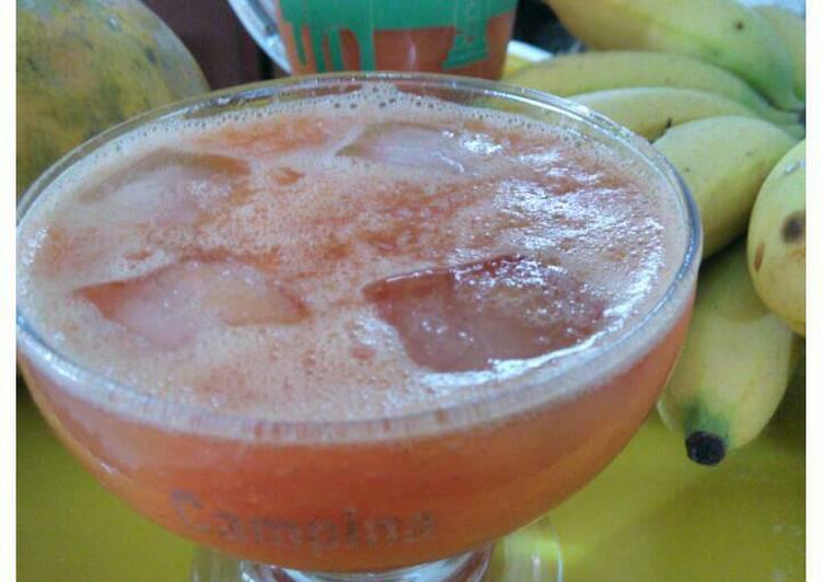 Mix fruit&veggie juice (#pr jus/smoothie#)