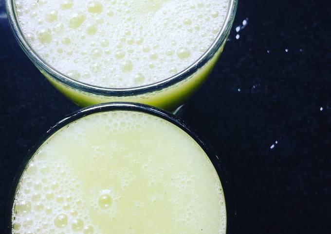 Amla, ginger lime juice