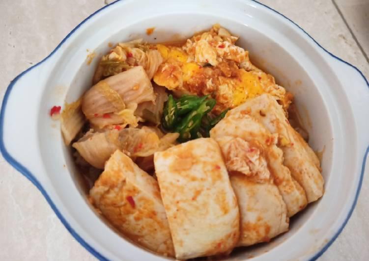 Sup Kimchi Korea