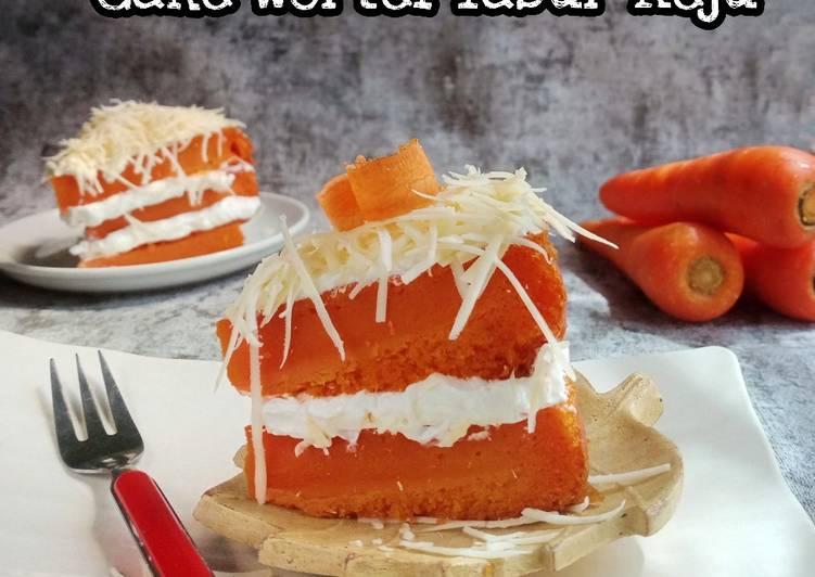 Cake Wortel Tabur Keju