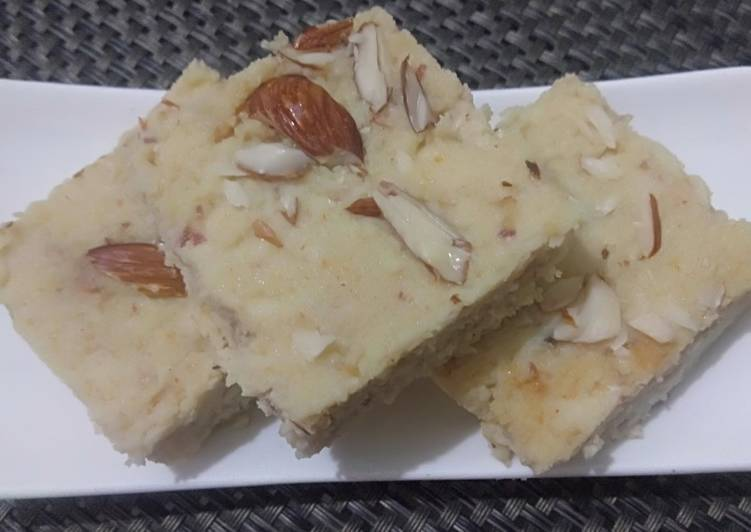 Easiest Way to Prepare Homemade Healthy Homemade Kalakand