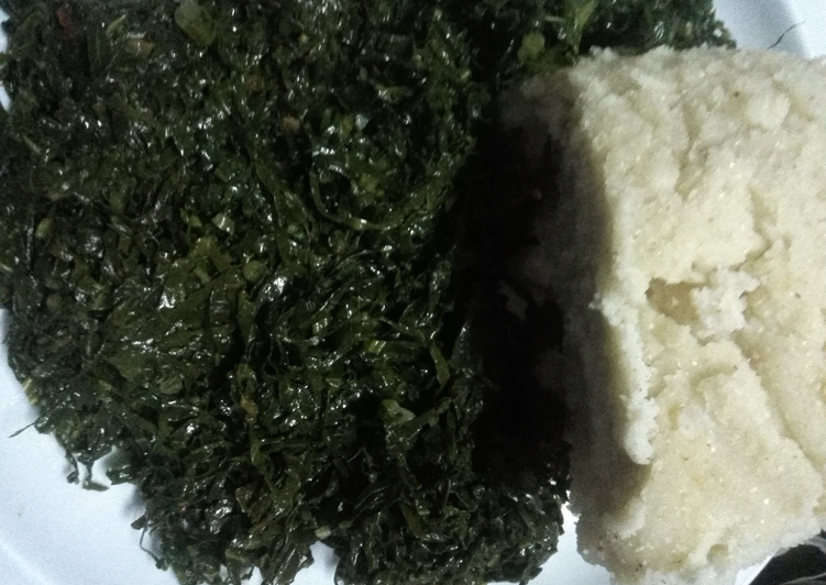 Recipe of Super Quick Homemade Fried kale