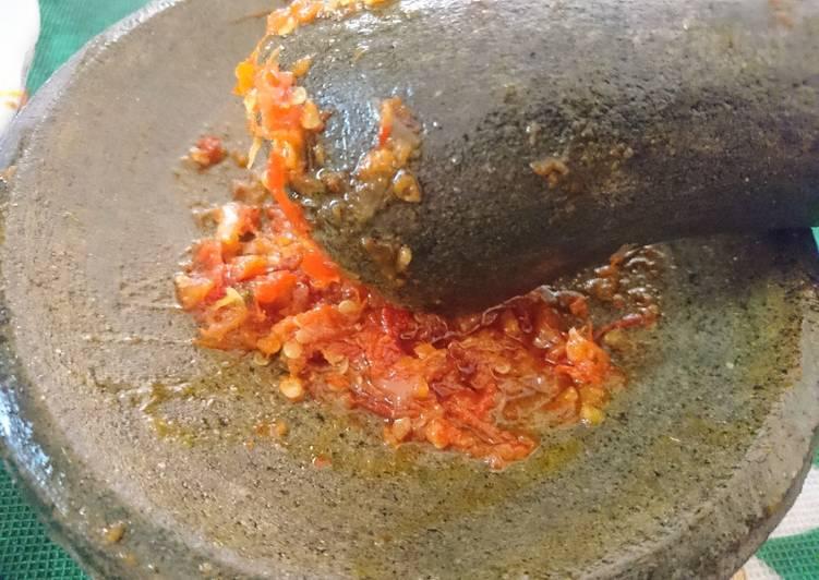 Cara Membuat Sambal Ayam Geprek anti ribet level 20😂…