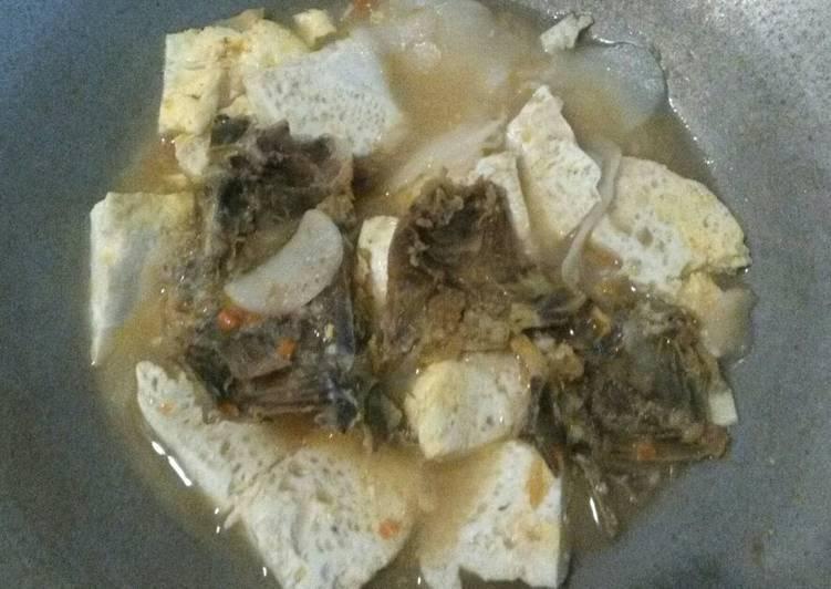 Resep Seblak tulang taleng telur bebek Yang Simple Sedap