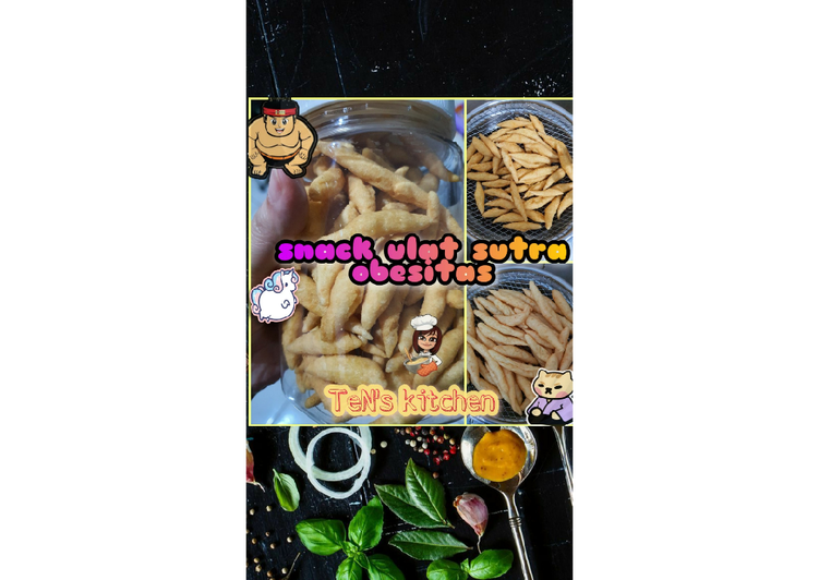 Snack Ulat Sutra Obesitas
