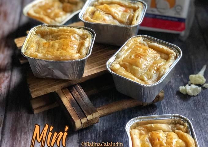 Mini Chicken Soup Pie