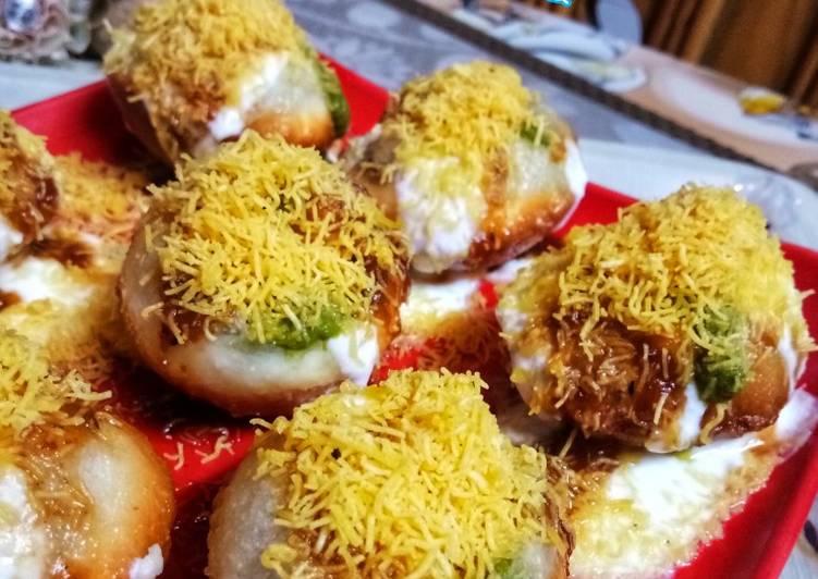 Recipe of Super Quick Homemade Dahi poori