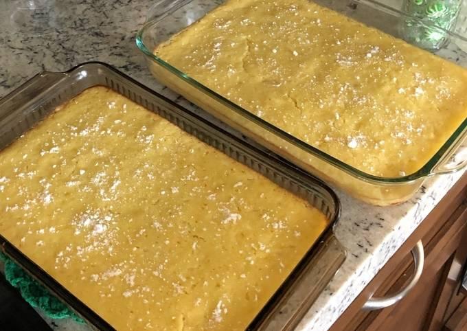 Easiest Way to Cook Tasty Keto GF Lemon Bars