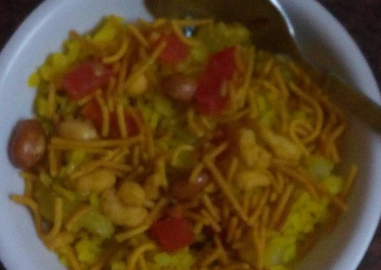 30 Minute Simple Way to Make Special Poha (a very light snack)