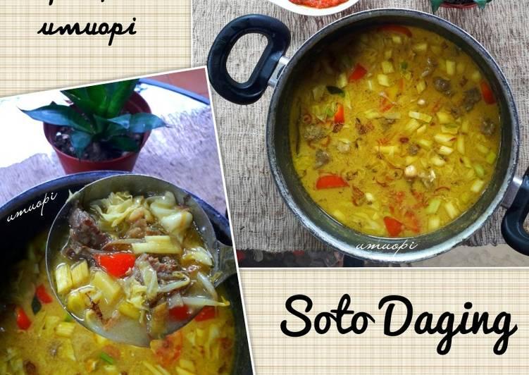 Soto Daging santan(betawi)