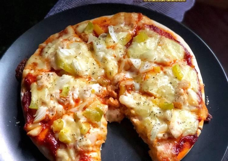 Cara Mudah Masak: Pizza Ayam  Lazat
