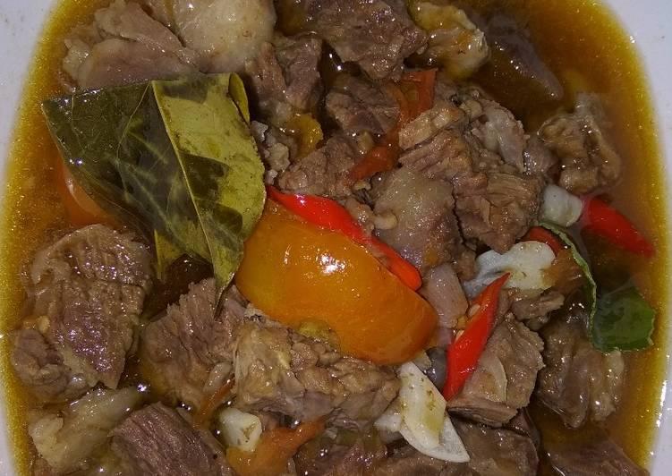 Goreng asem daging sapi