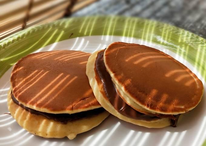 Dorayaki Ricettait.Ricetta Dorayaki Di Mangiando Si Impara Cookpad