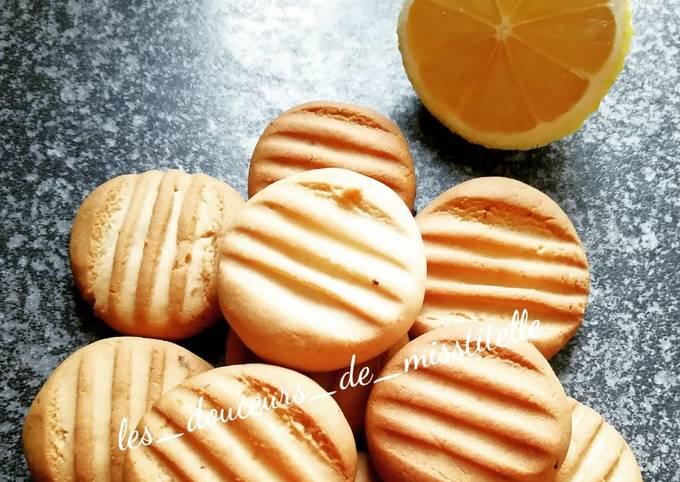Biscuits au miel 🍯 et au citron 🍋