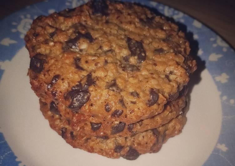 Steps to Make Award-winning Tahini chocolate chip cookies