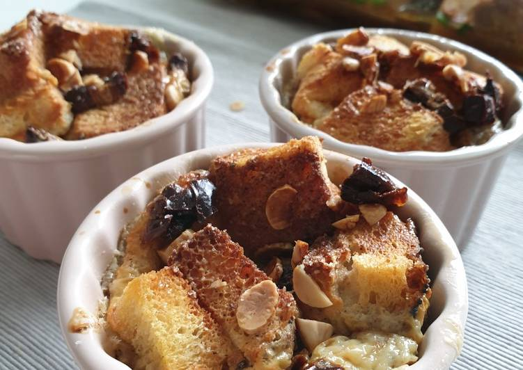 Bread pudding (air fryer)