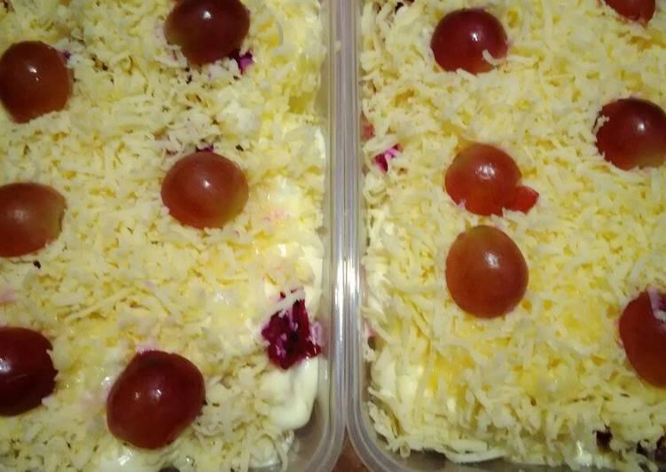 Salad Buah Whipy Cream