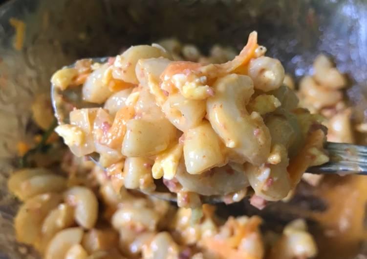 Maccaroni Salad (Salad makaroni)