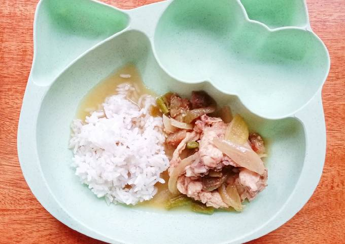Day. 303 Sup Balungan Ayam (15 month+)