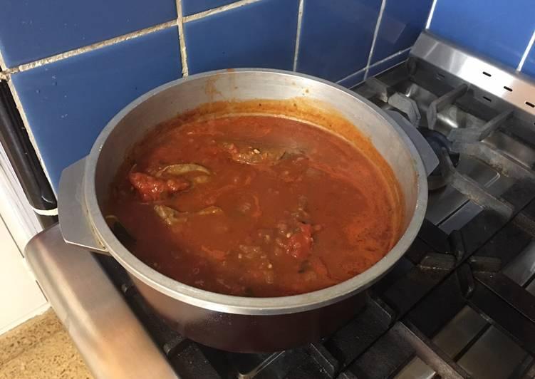 Estofado de carne a la bolognesa