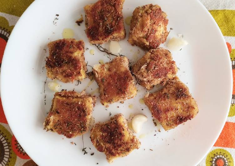 Croquettes apéro au fromage de chèvre et boursin