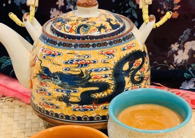 Ginger & cardamom tea