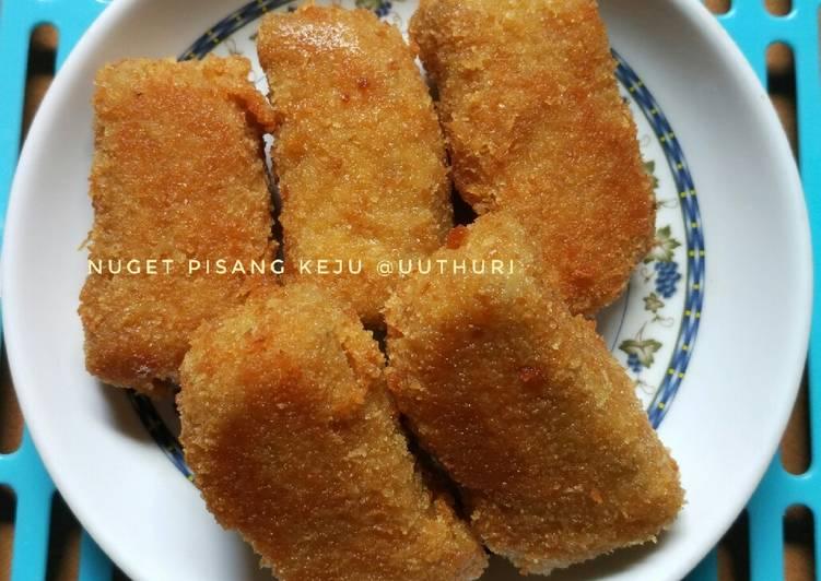 Resep Nugget pisang keju (mpasi 11+) Anti Gagal