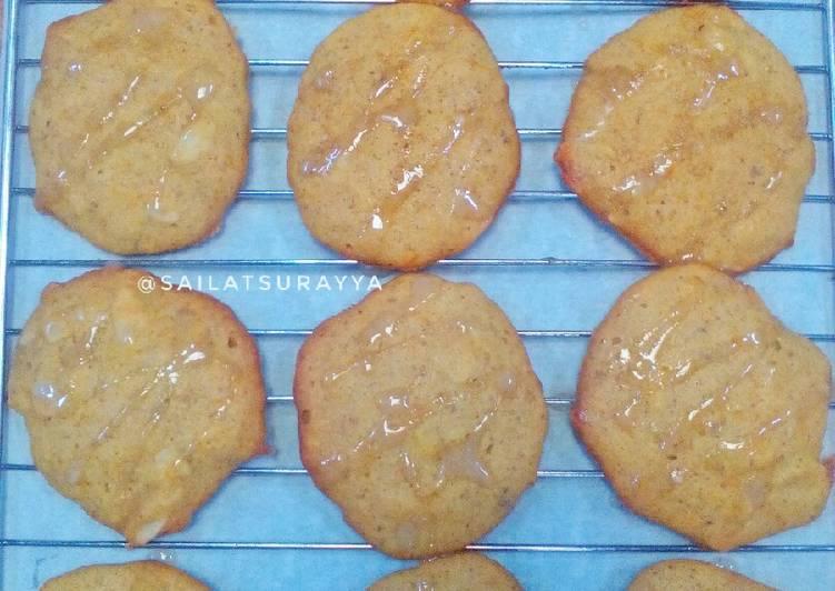 Soft Pumpkin Cookies #kamismanis
