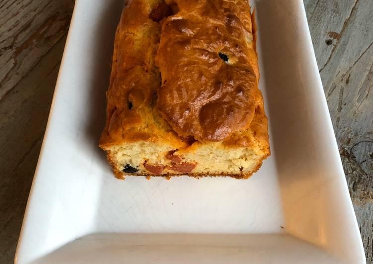 Recette Des Cake au chorizo et aux olives