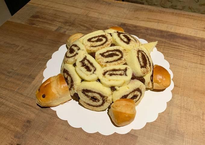 Le gâteau tortue rigolo