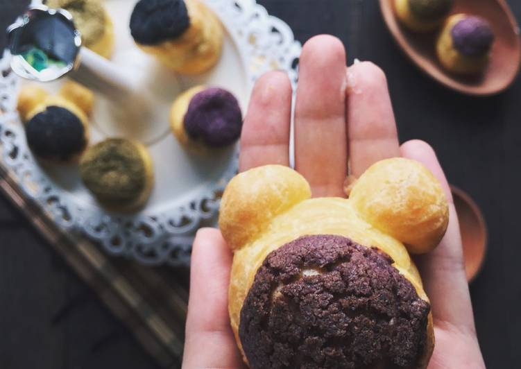 Choux pastry (cream puff)👌🏻