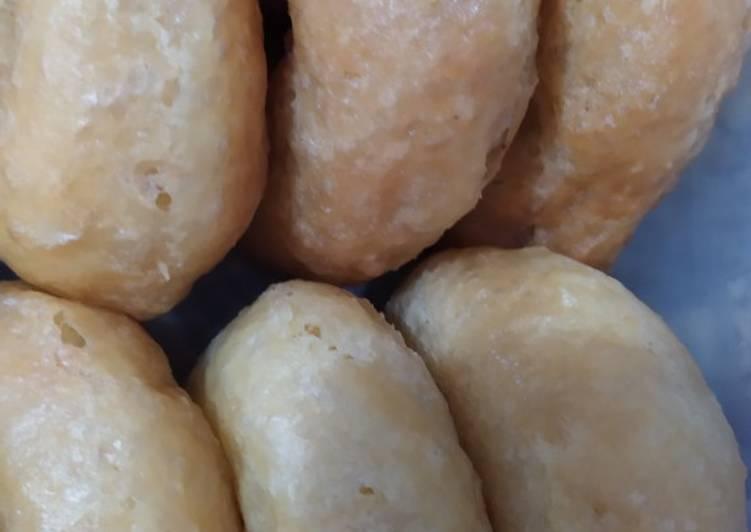 Donat kentang sederhana tanpa timbangan
