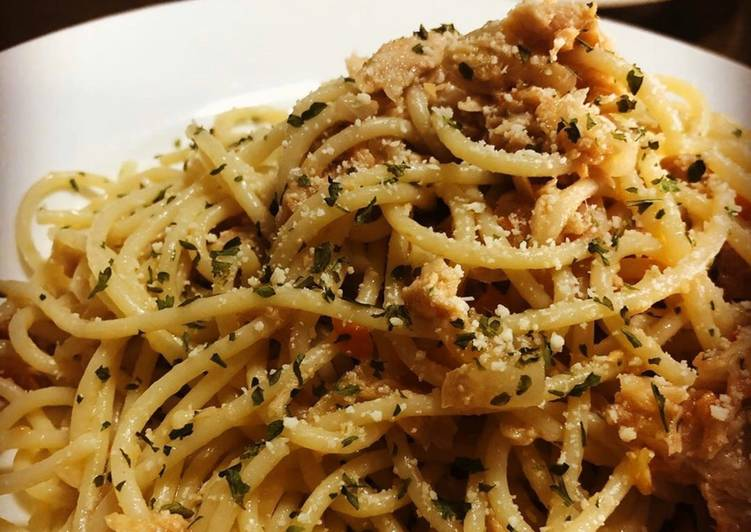 Easiest Way to Cook Appetizing Tuna Pasta