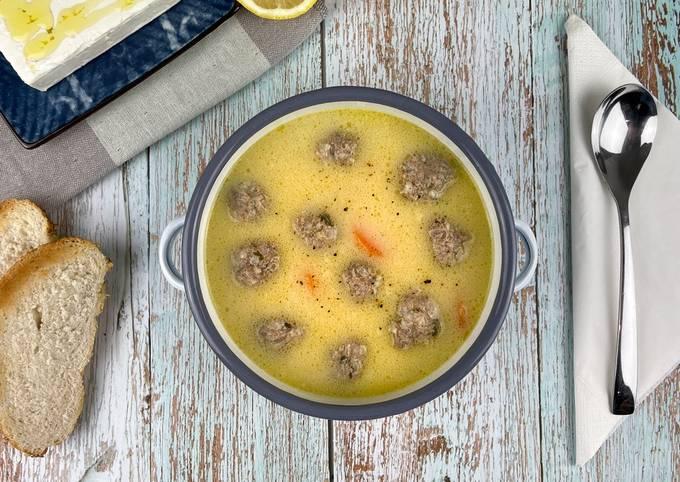 Giouvarlakia Meatball Soup