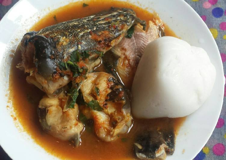 Simple Way to Make Most Popular Fresh fish pepper soup