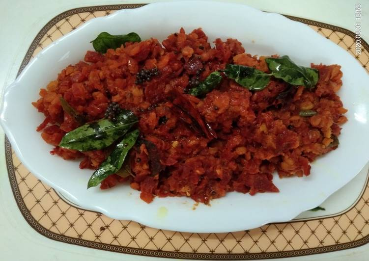 Moong Dal Beet Root Curry Deciding on Healthy Fast Food
