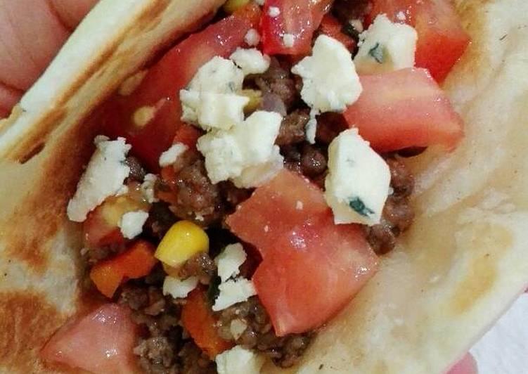 Tacos Súper Fáciles Con Carne Picada Receta De Euge