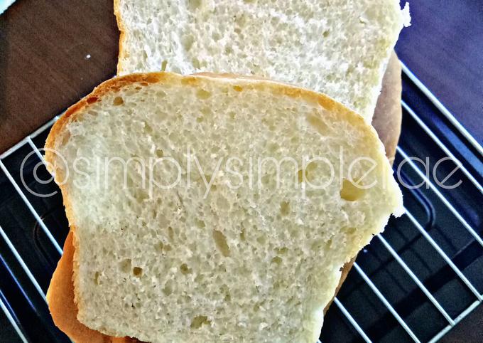 Roti Tawar Fluffy & Ringan
