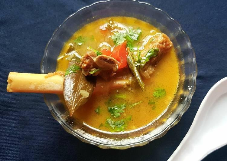 How to Make Homemade Mutton Rib Bone Soup