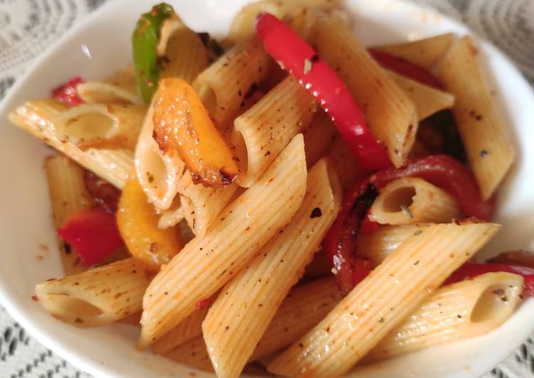 Steps to Make Super Quick Homemade Penne pasta