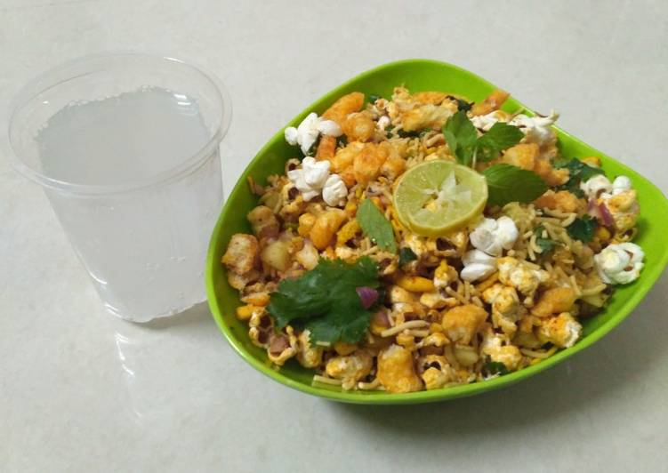 30 Minute Recipe of Homemade Popcorn chaat