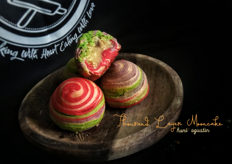 Rahasia Membuat 110. Thousand Layer Mooncake Untuk Pemula!